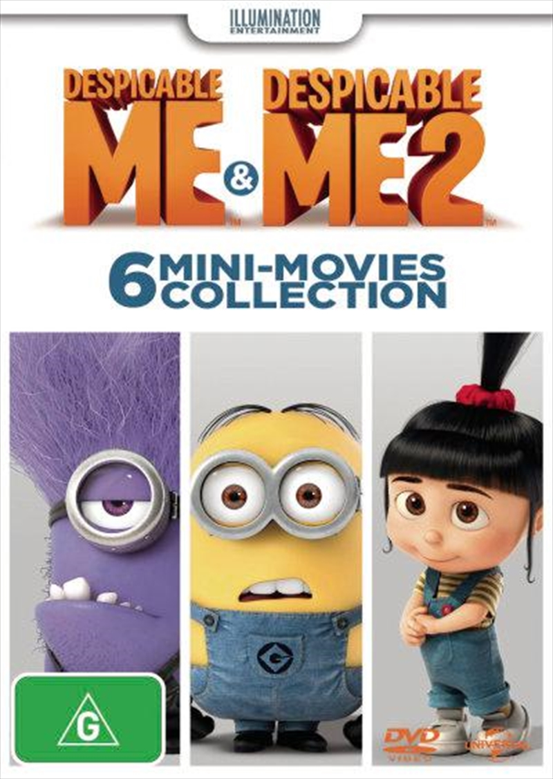 Despicable Me Mini Movies | DVD