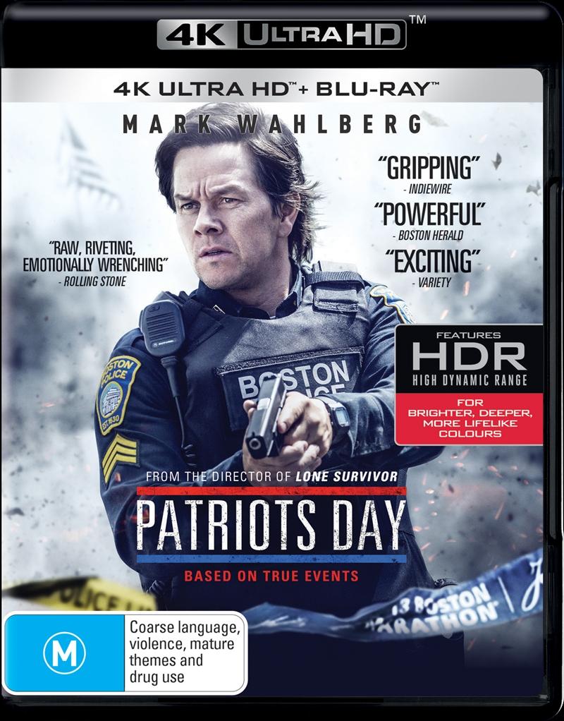 Patriots Day | Blu-ray + UHD | UHD