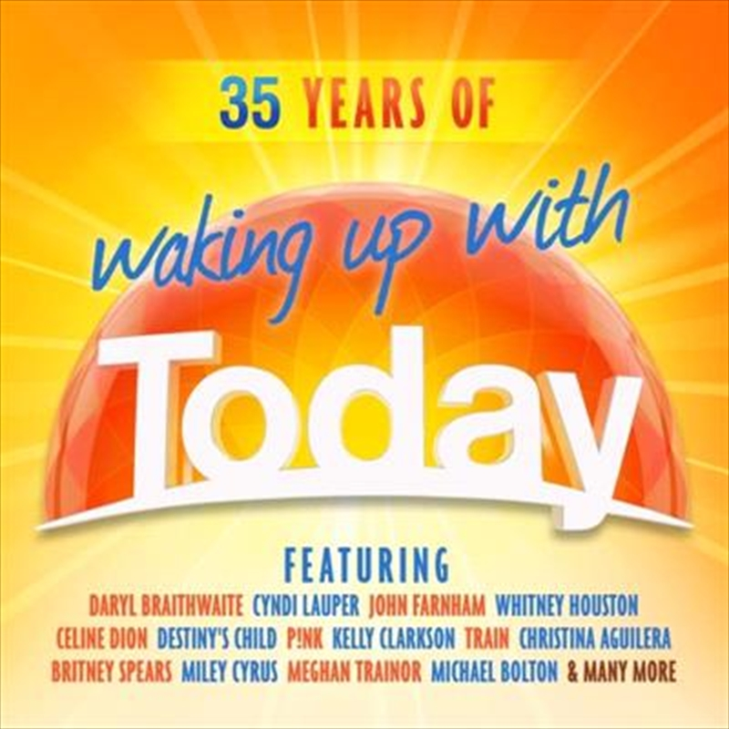 35 Years Of Waking Up With Today | CD