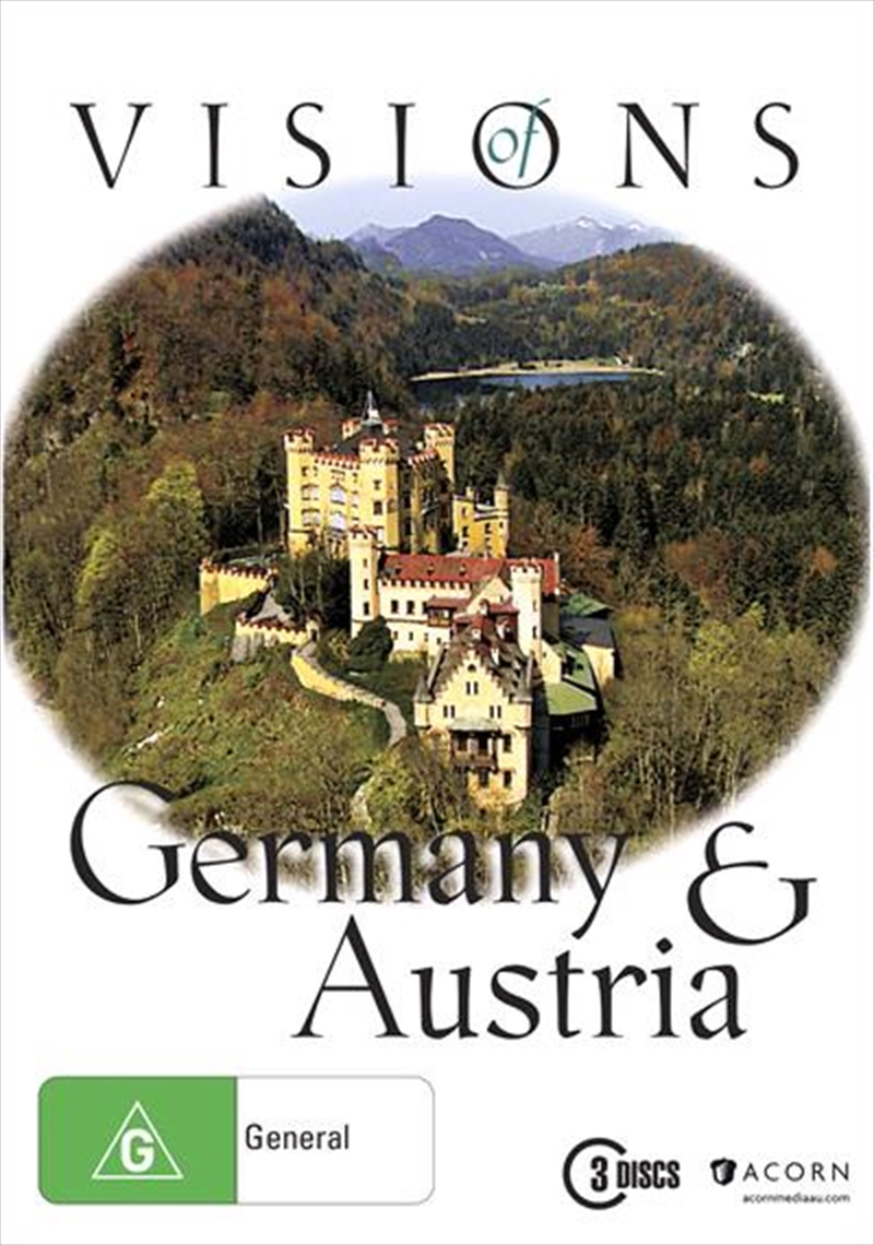 Visions Of Germany and Austria Boxset | DVD