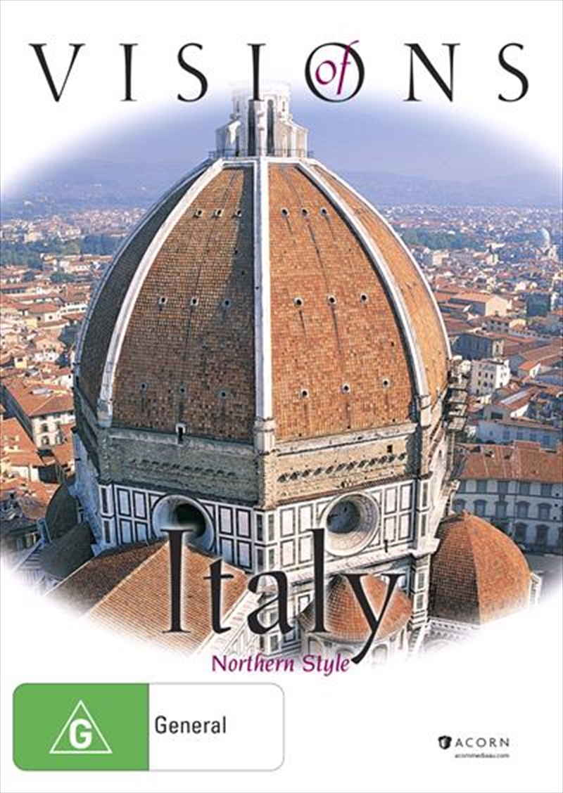 Visions Of Italy - Northern Style | DVD