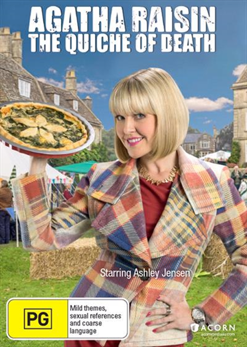 Agatha Raisin - The Quiche of Death | DVD