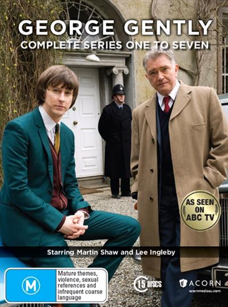 George Gently - Series 1-7 | Boxset | DVD
