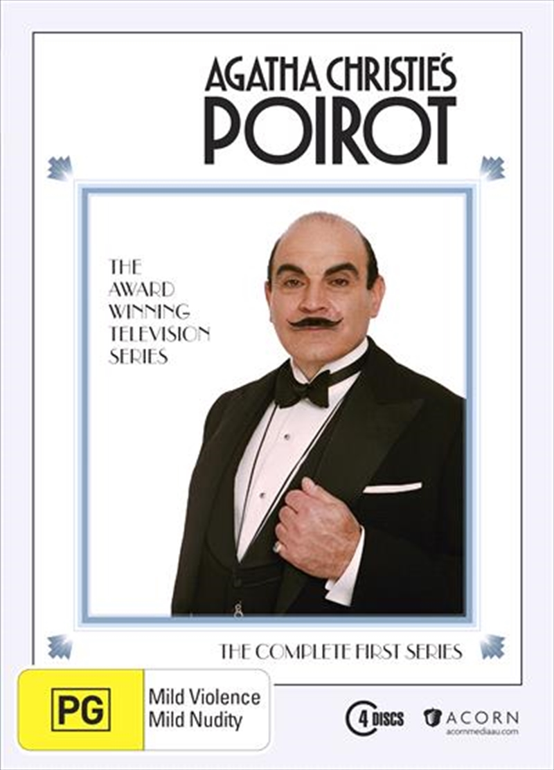 Agatha Christie - Poirot - Series 1 | DVD