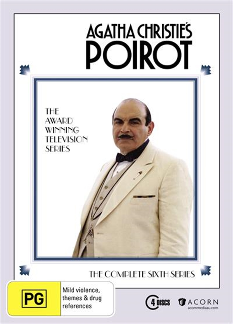 Agatha Christie - Poirot - Series 6 | DVD