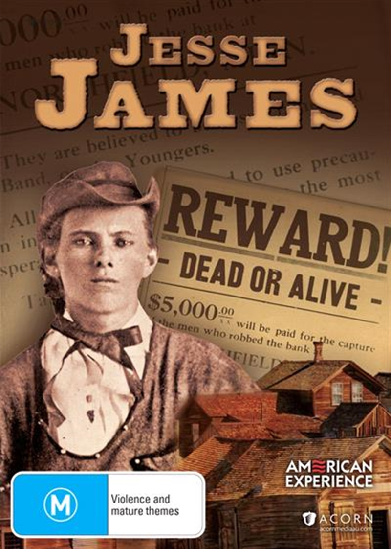 American Experience - Jesse James | DVD