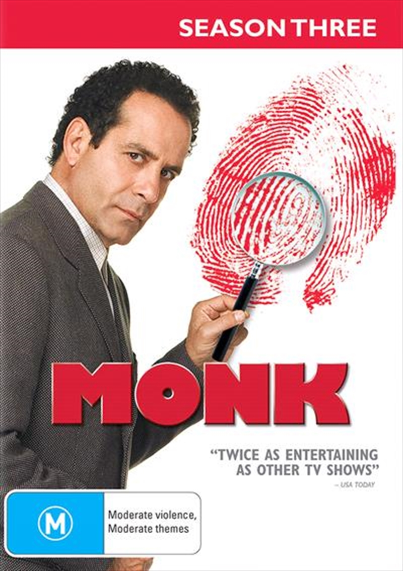 Monk - Season 3 | DVD