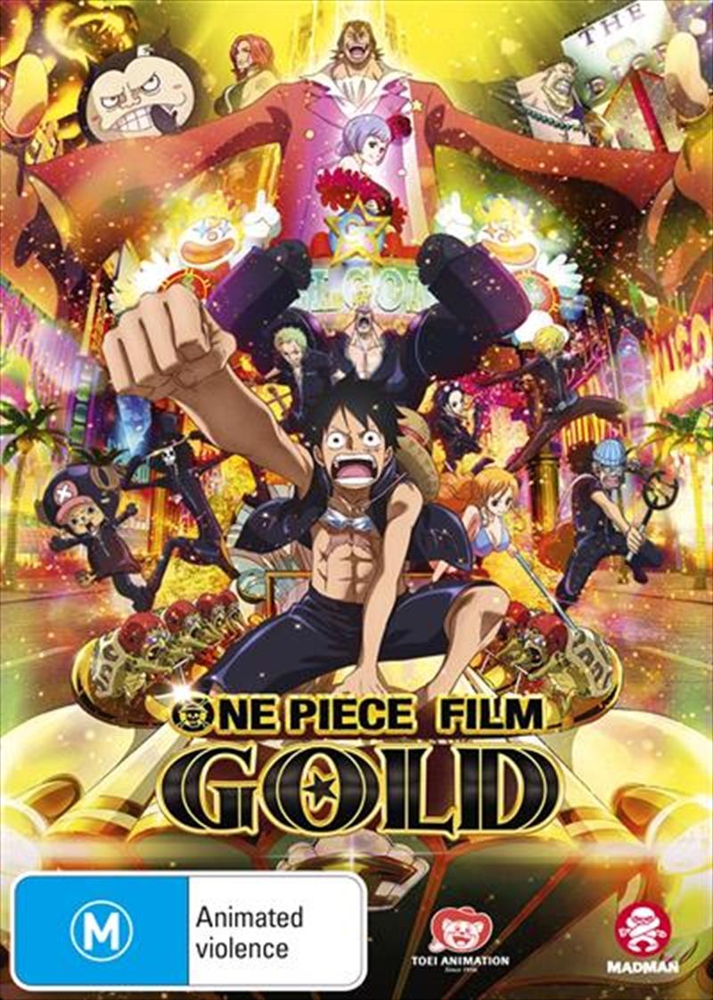 One Piece Film - Gold   DVD