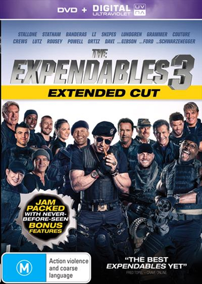 Expendables 3 - Extended Edition, The | DVD