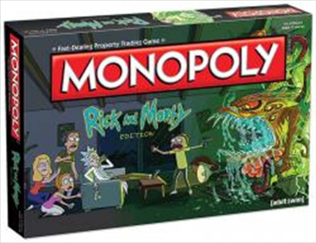 Monopoly: Rick And Morty Edition | Merchandise