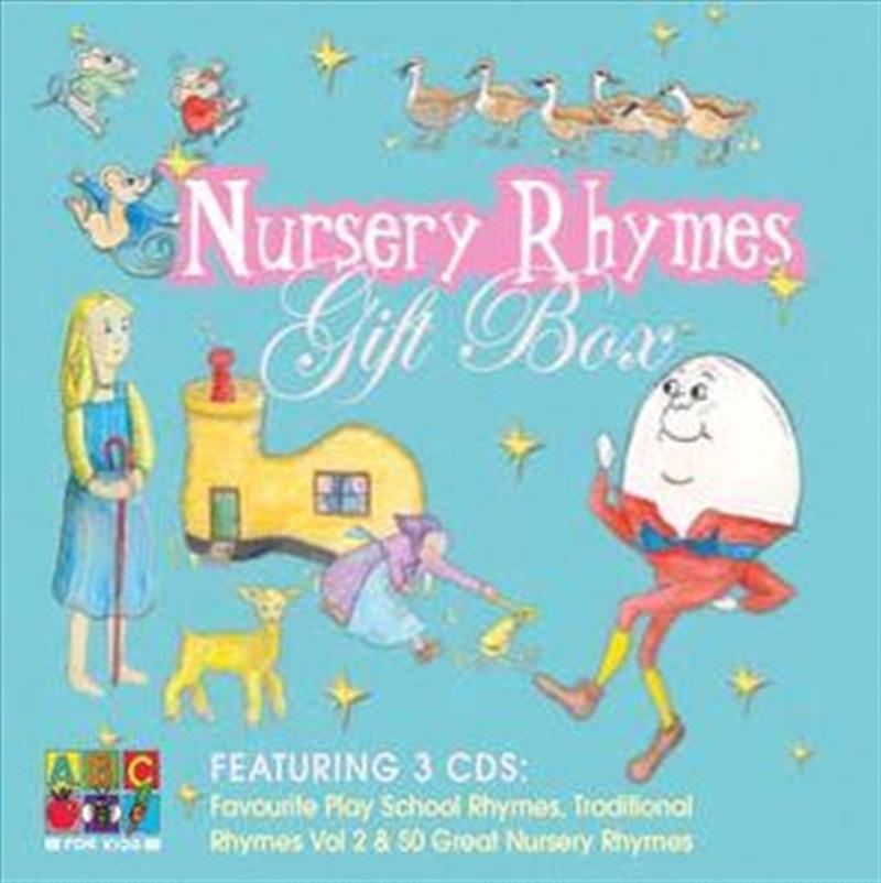 Nursery Rhymes Gift Box   CD