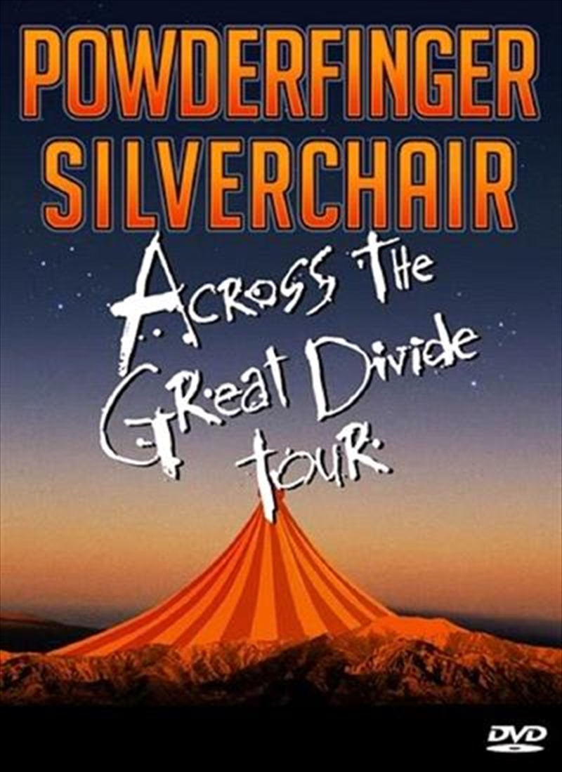 Across The Great Divide Tour   DVD