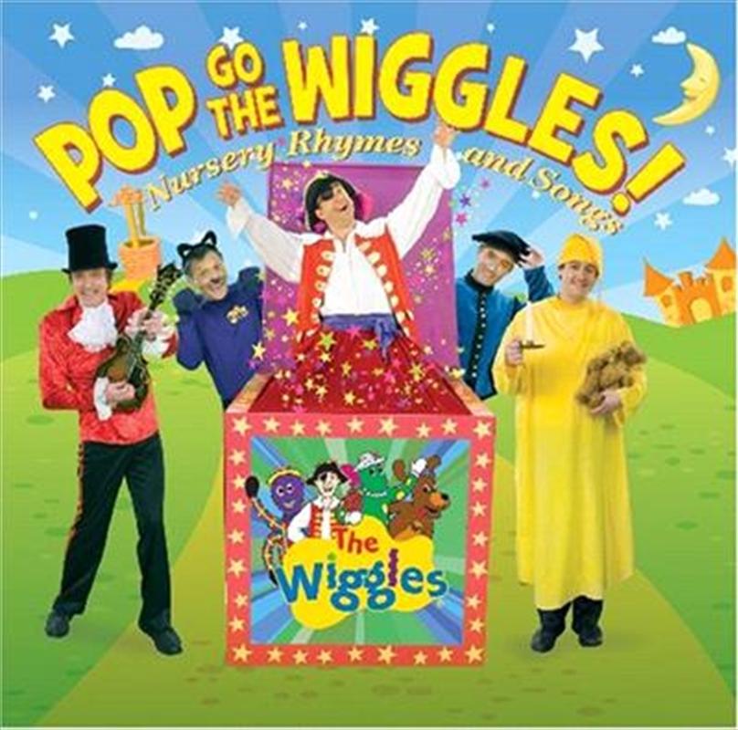 Pop Goes The Wiggles! Nursery Rhymes & Songs   CD
