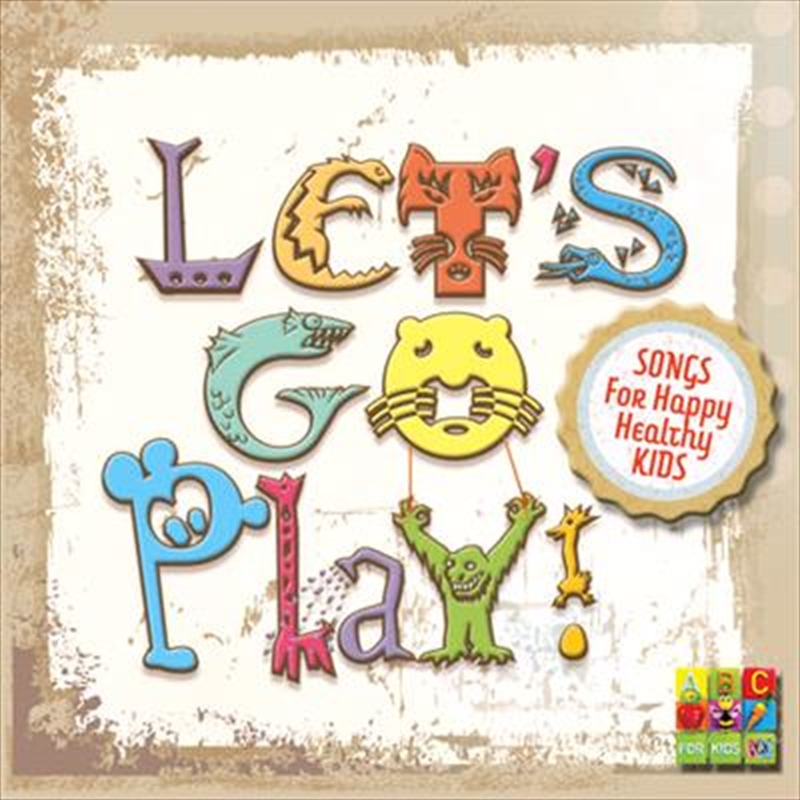 Let's Go Play | CD