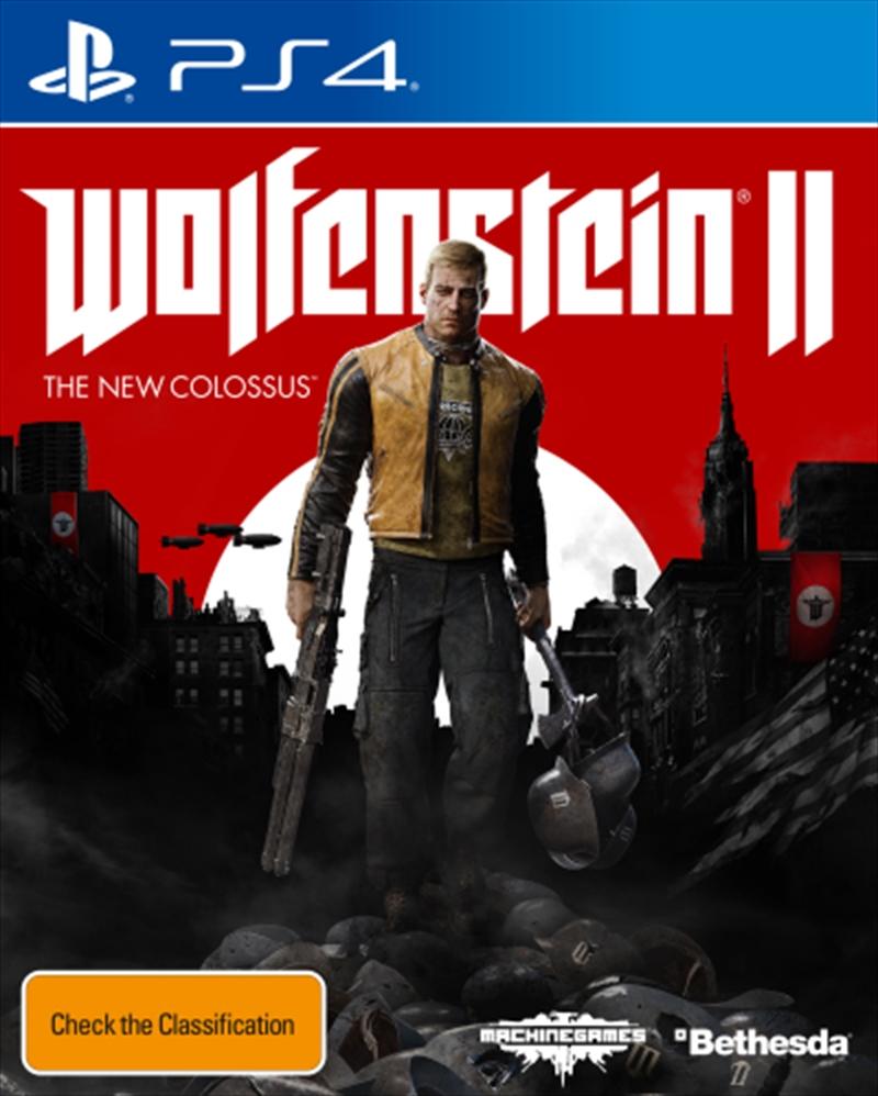 Wolfenstein 2 The New Colossus | PlayStation 4