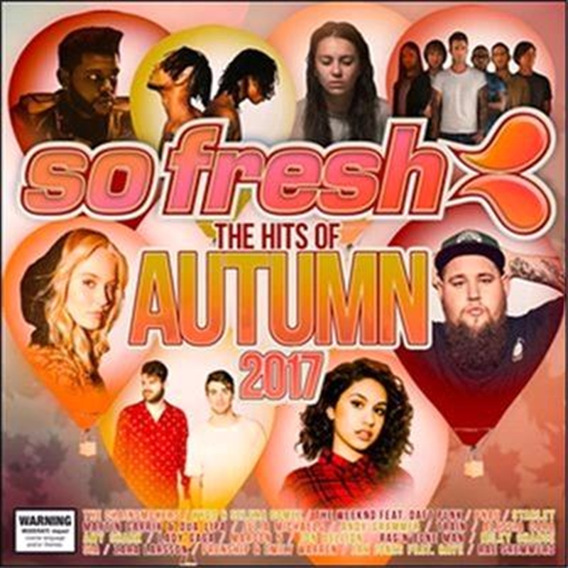 So Fresh: Hits of Autumn 2017 | CD