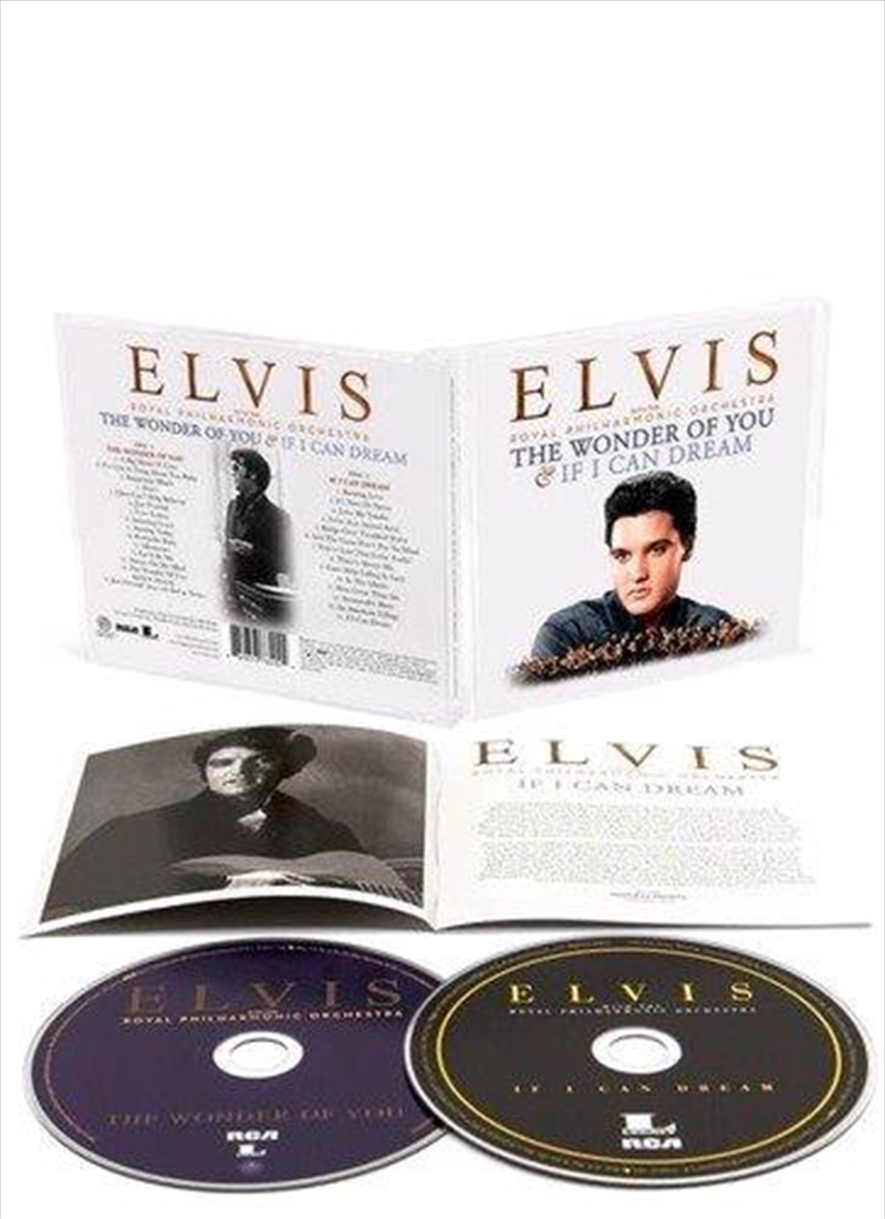 Wonder Of You, The & If I Can Dream - Collector's Edition   CD