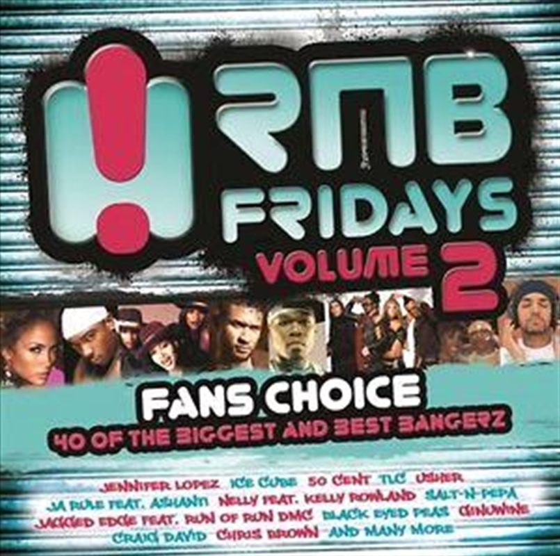 Rnb Fridays Vol 2 | CD