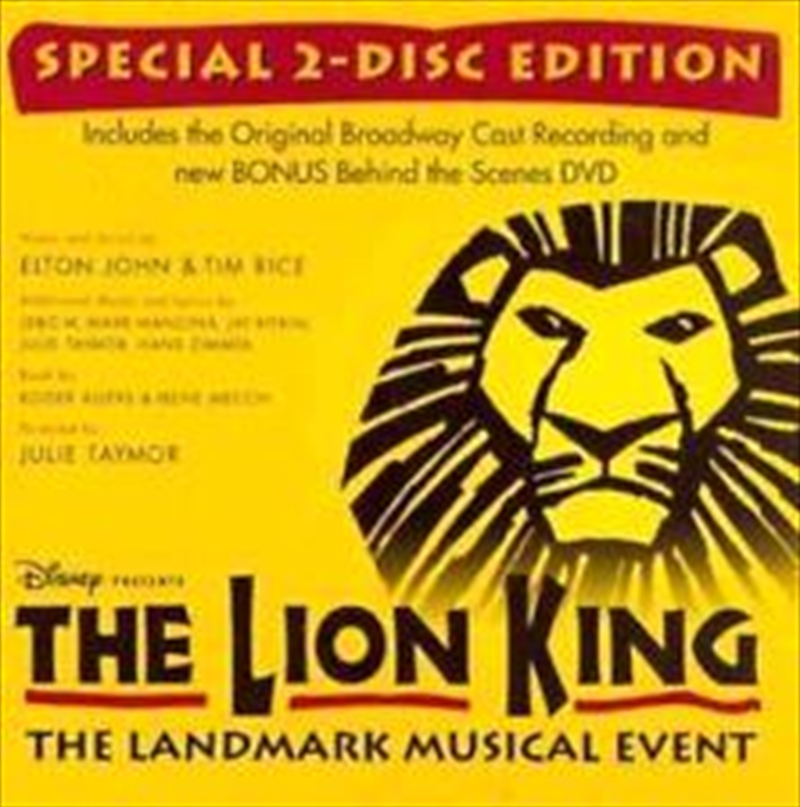 Lion King On Broadway / O.b.c. | CD/DVD
