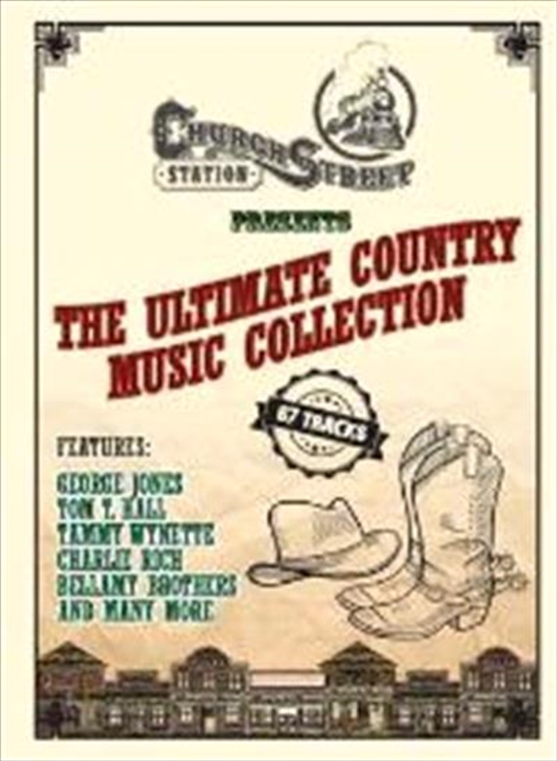 Country The Ultimate Collection: Ultimate Country Music Visual, DVD