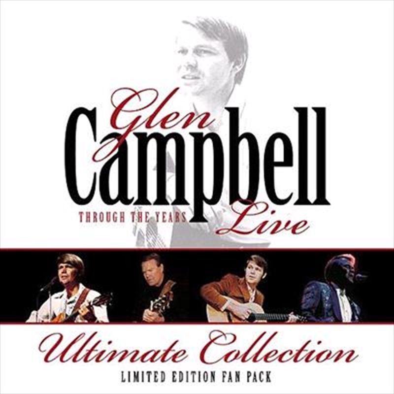 Through The Years Live   CD