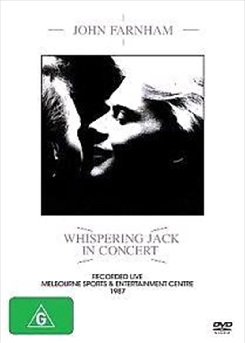 Whispering Jack In Concert | DVD