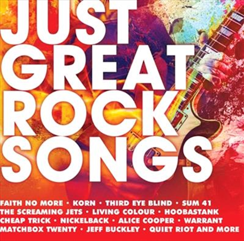 Just Great Rock Songs | CD