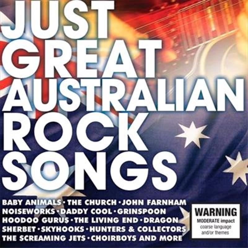 Just Great Australian Rock Songs | CD