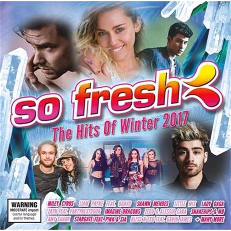 So Fresh: Hits Of Winter 2017 | CD