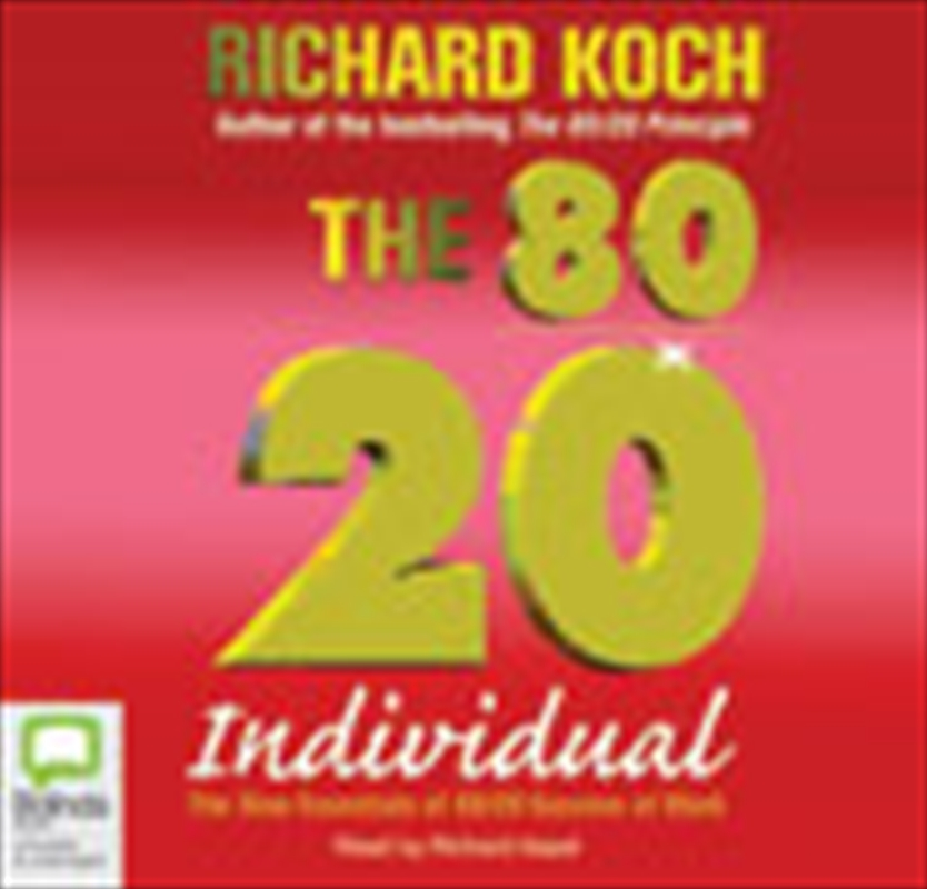 80/20 Individual | Audio Book