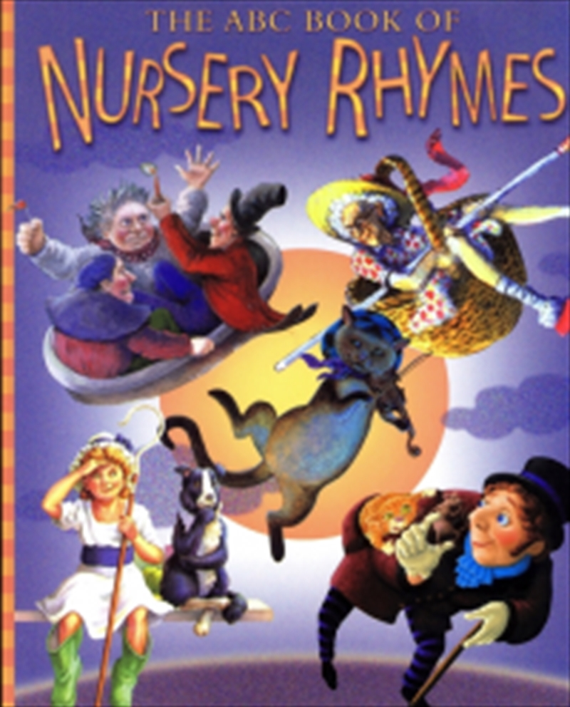 Abc Book Of Nursery Rhymes | Paperback Book