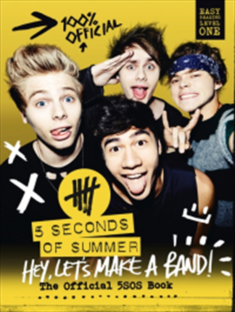 Hey Lets Make A Band   Hardback Book