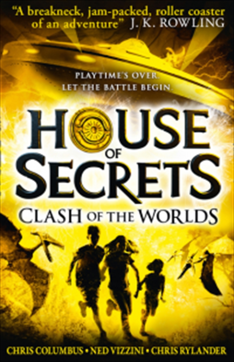 Clash Of The Worlds: House Of Secrets | Paperback Book