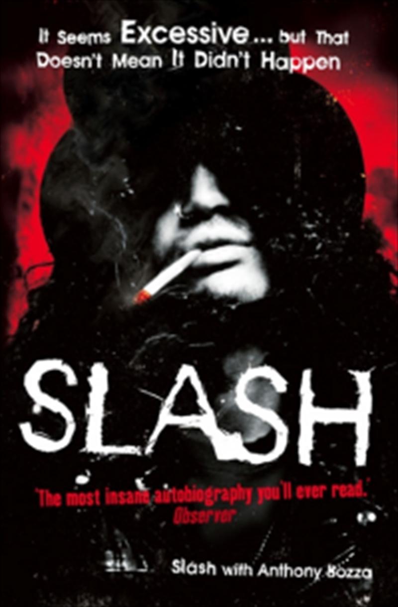 Slash The Autobiography | Paperback Book