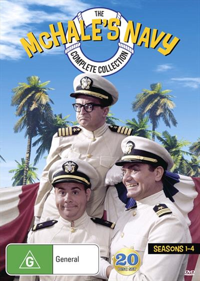 Mchale S Navy Season 1 4 Series Collection Comedy Dvd