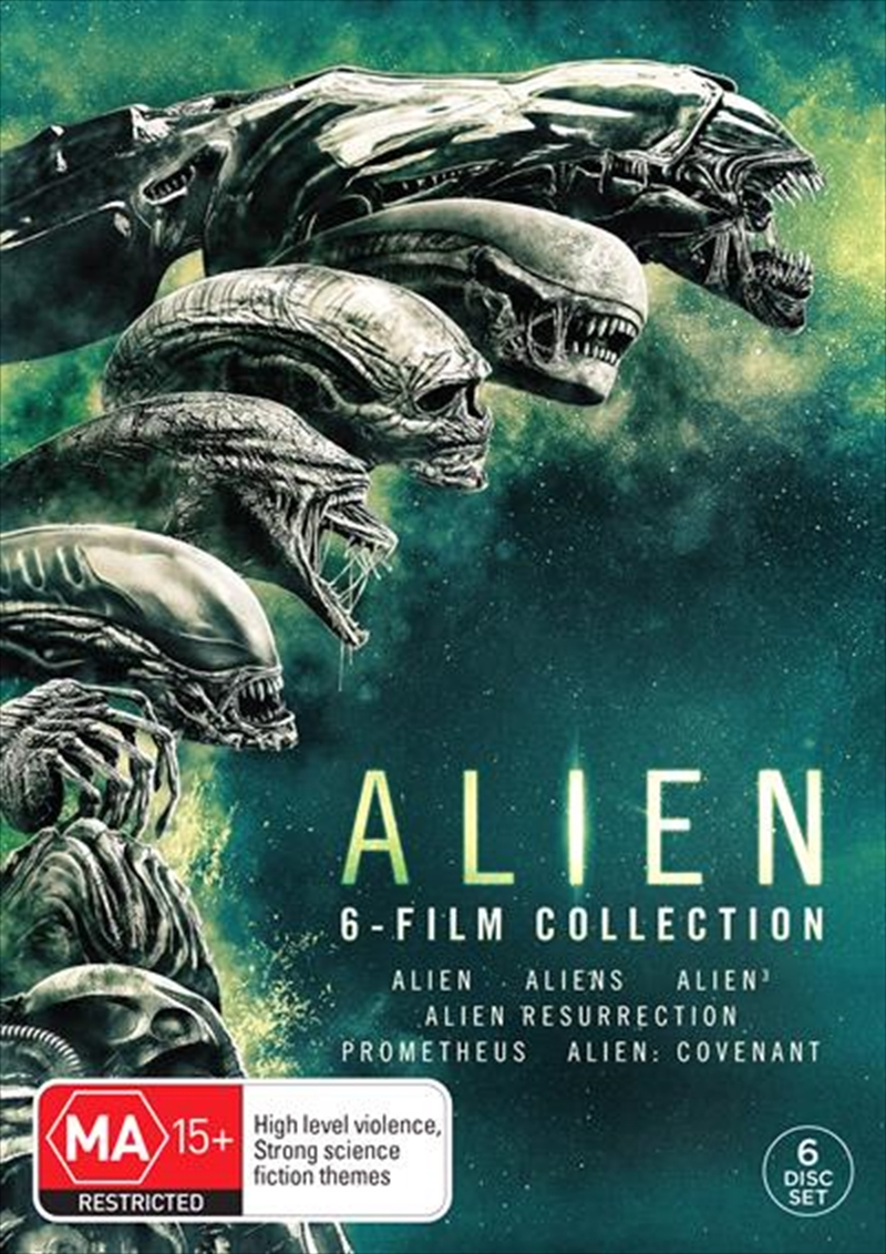 Alien 6 Movie Pack | DVD