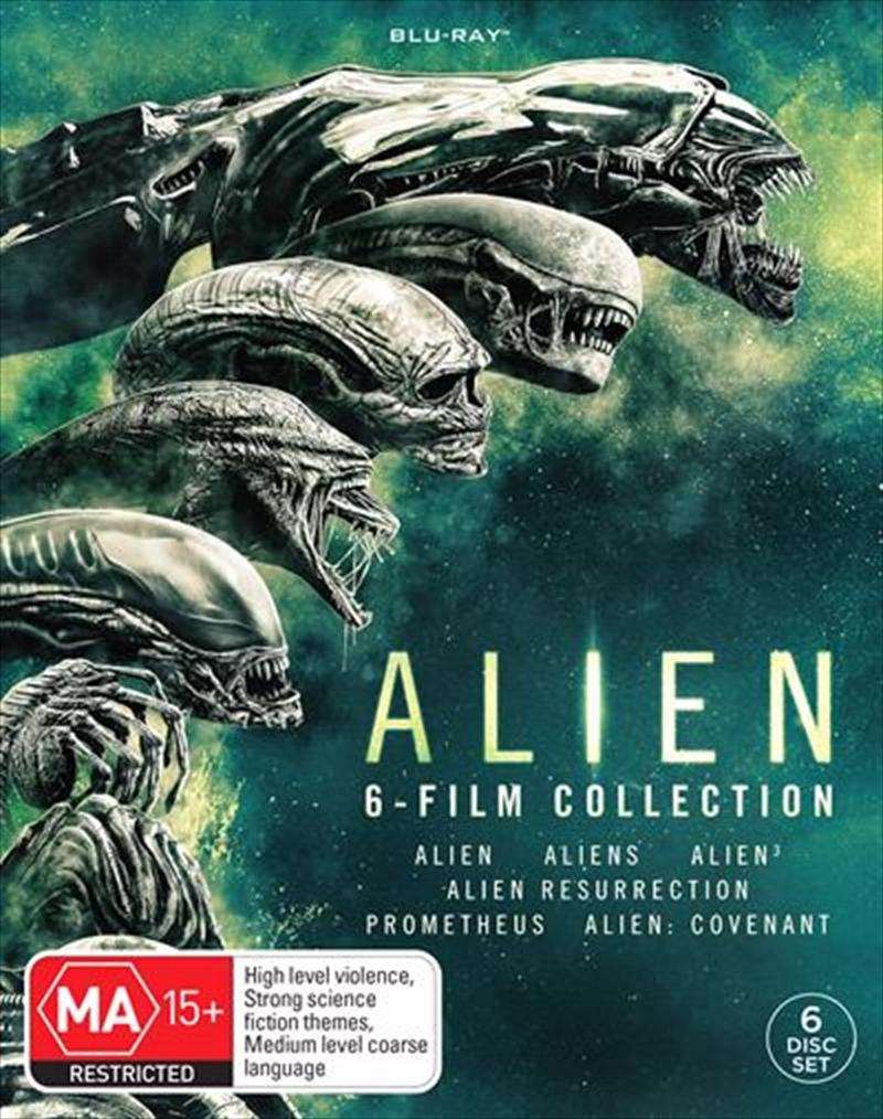 Alien 6 Movie Pack | Blu-ray