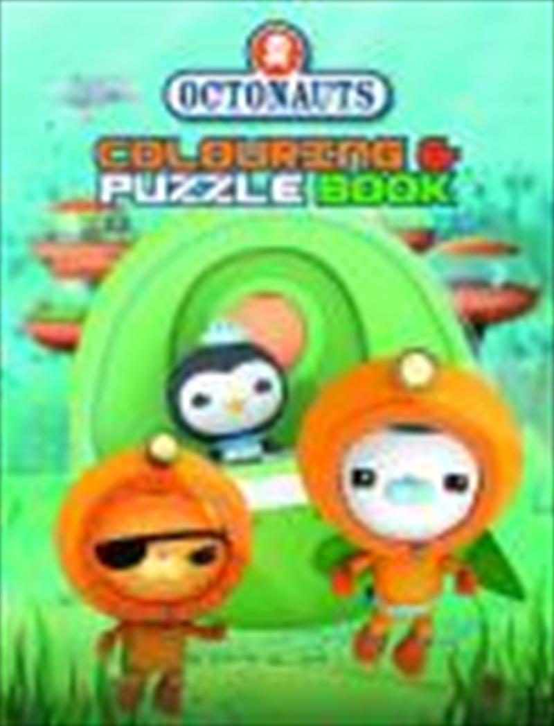 Octonauts: Colouring & Puzzle Book   Paperback Book