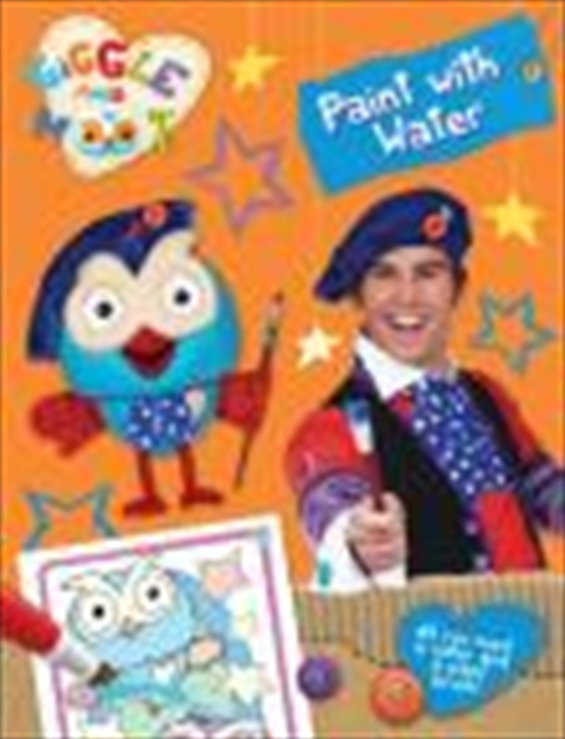 Giggle & Hoot: Paint With Water | Paperback Book
