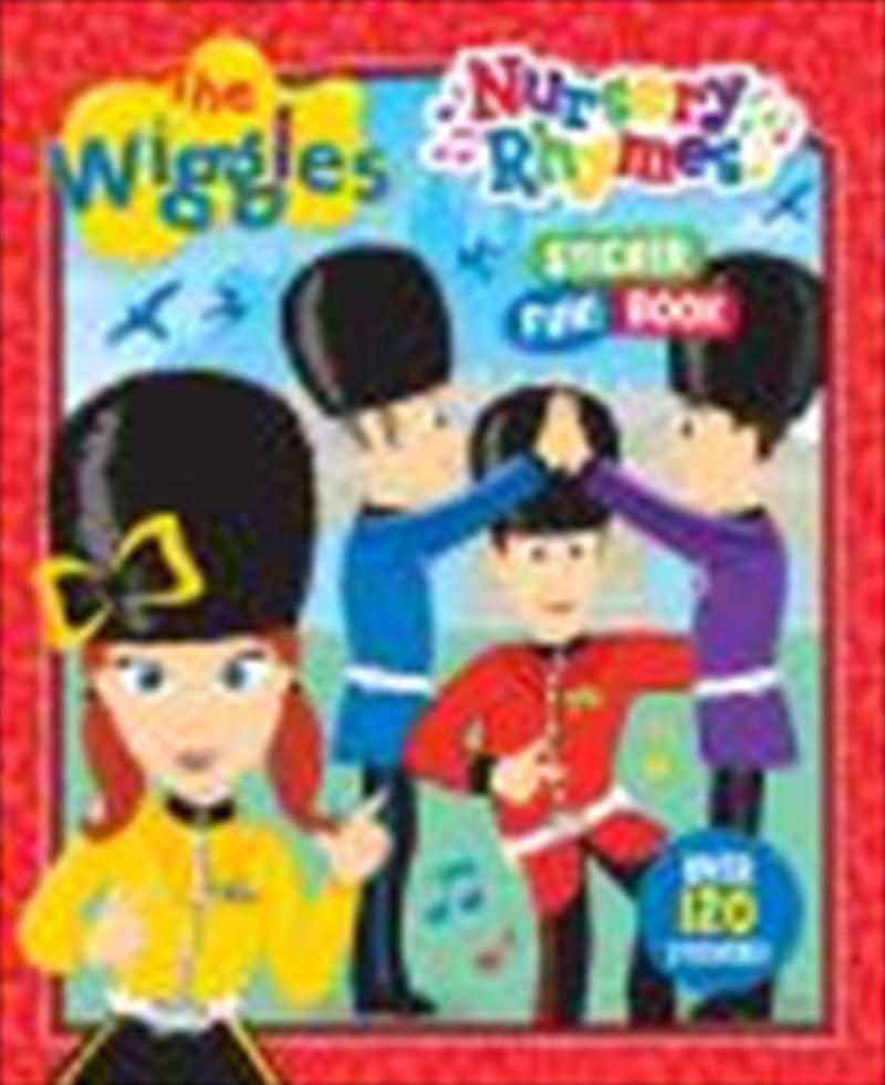Wiggles Nursery Rhymes Sticker Book | Paperback Book