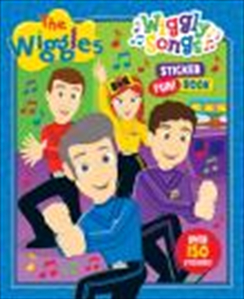 Wiggles Wiggly Songs Sticker Fun Book | Paperback Book
