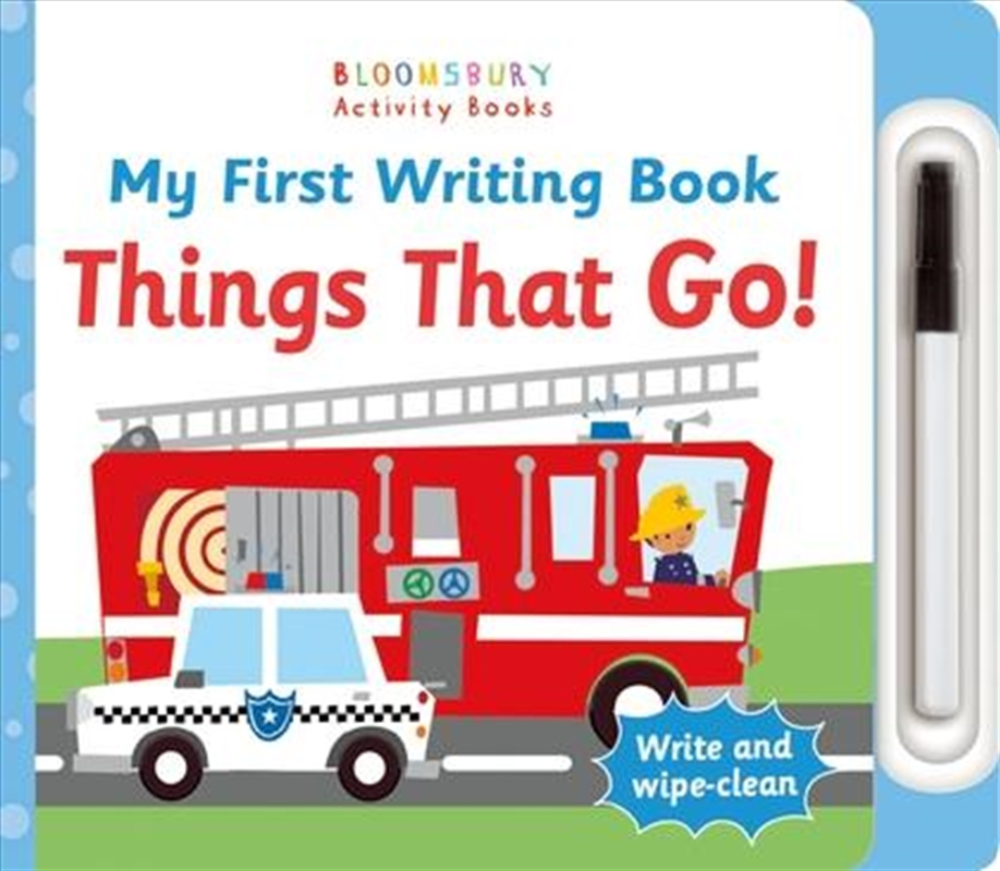 My First Writing Book Things That Go! | Board Book
