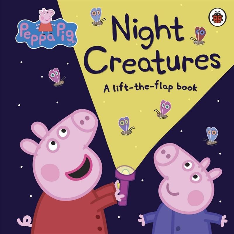 Peppa Pig: Night Creatures | Board Book