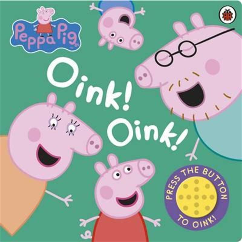 Peppa Pig: Oink Oink | Board Book