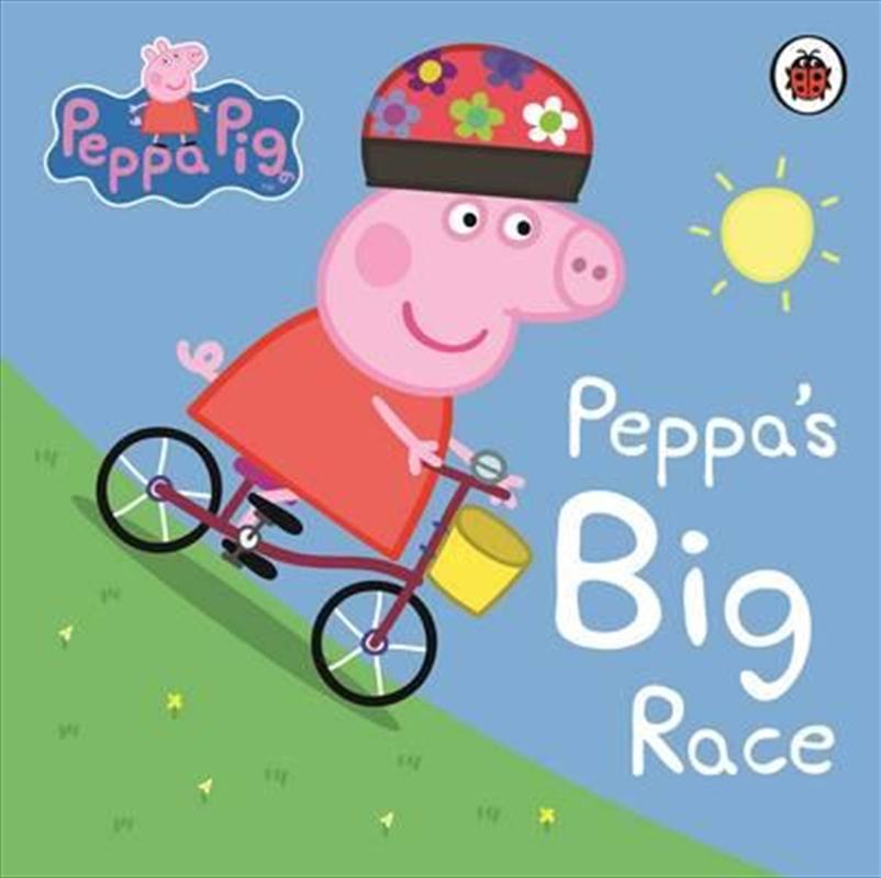 Peppa Pig: Peppa's Big Race | Board Book
