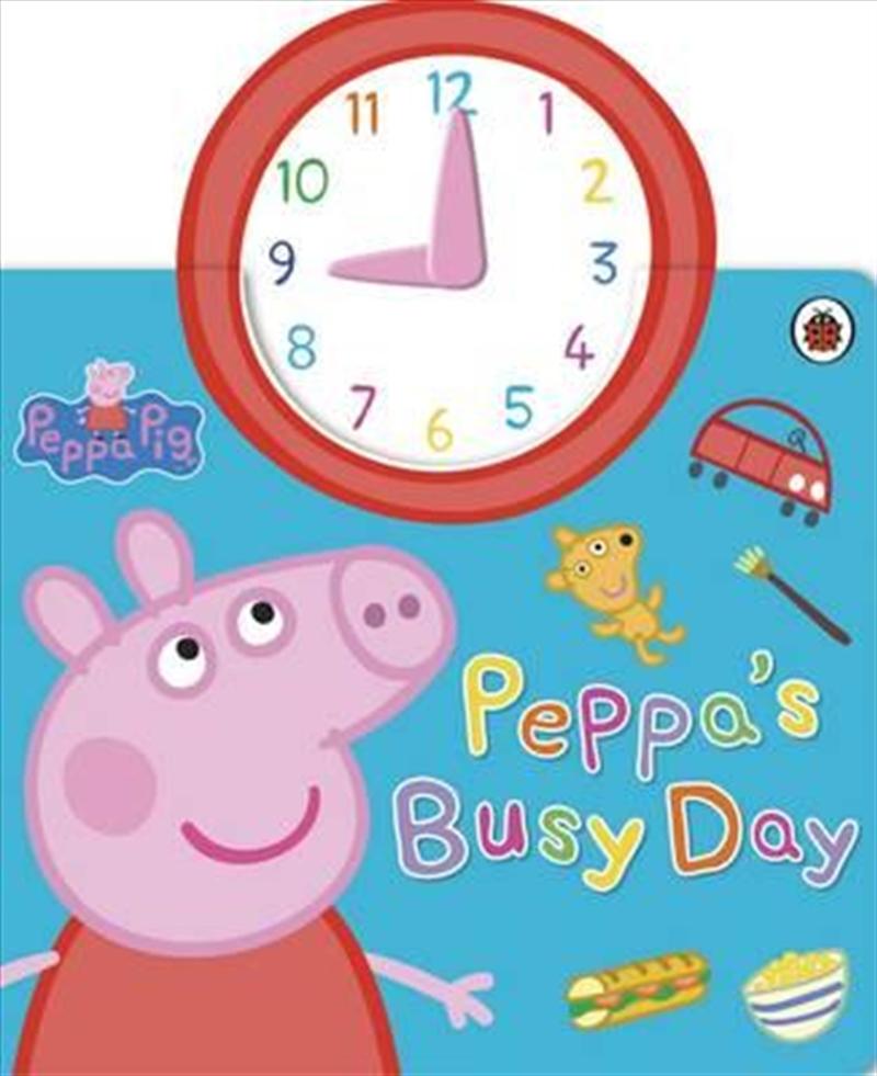 Peppa Pig: Peppa's Busy Day | Board Book