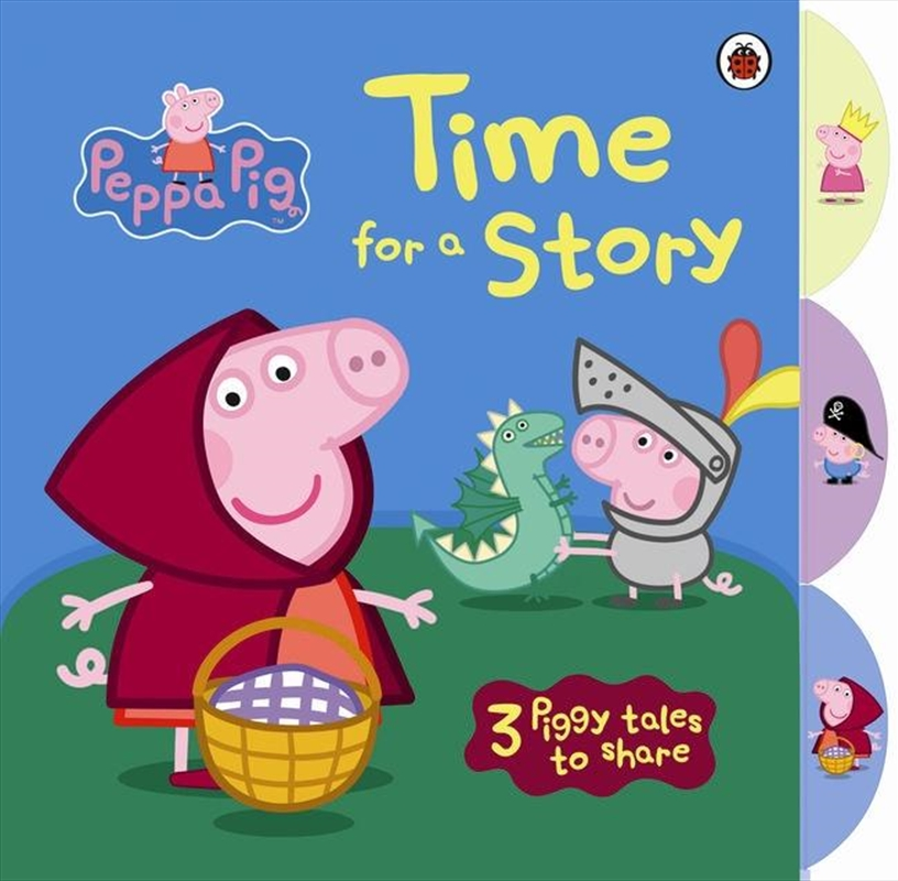 Peppa Pig: Time For A Story | Board Book