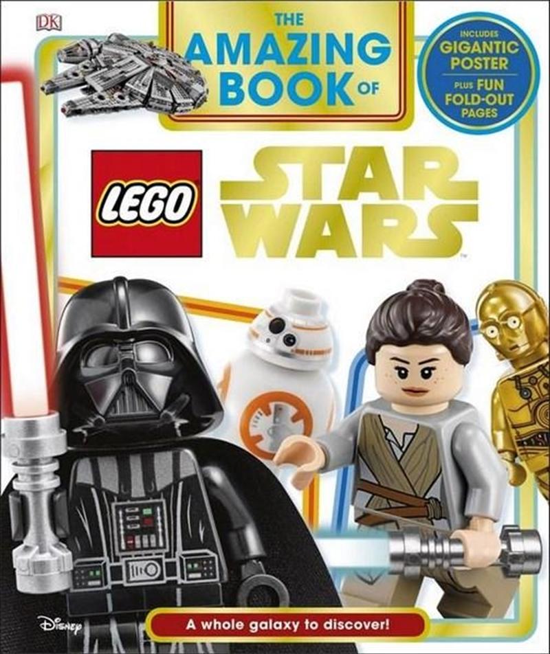 Amazing Book Of Lego Star Wars | Hardback Book