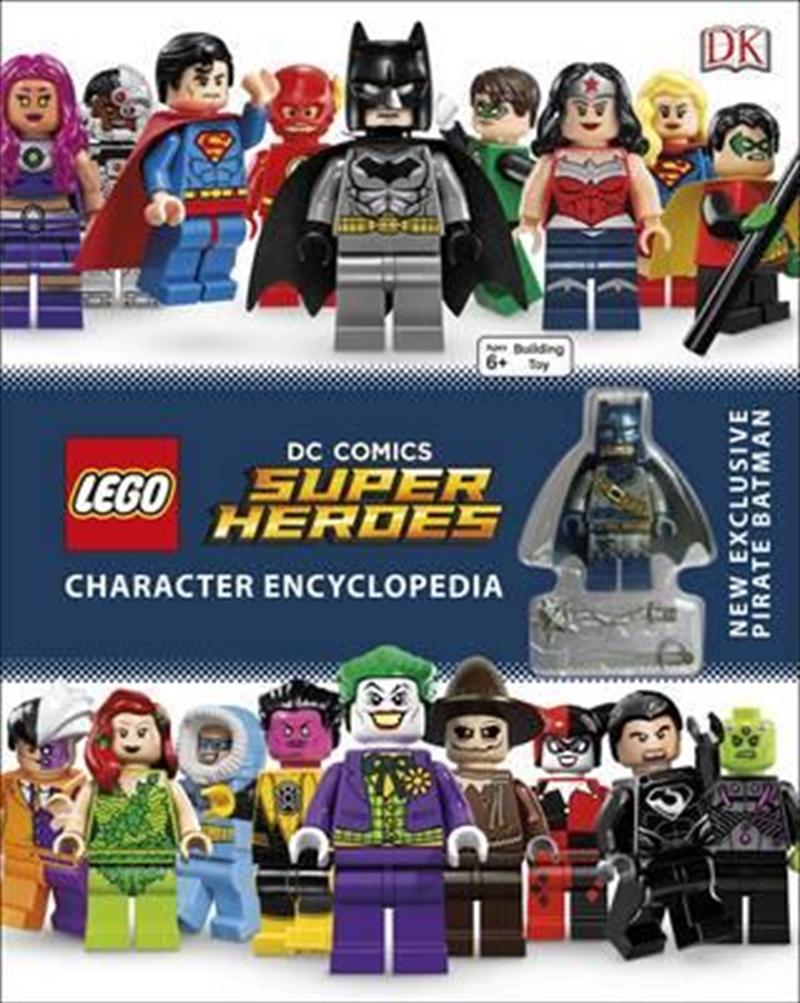 LEGO® DC Super Heroes: Character Encyclopedia | Hardback Book