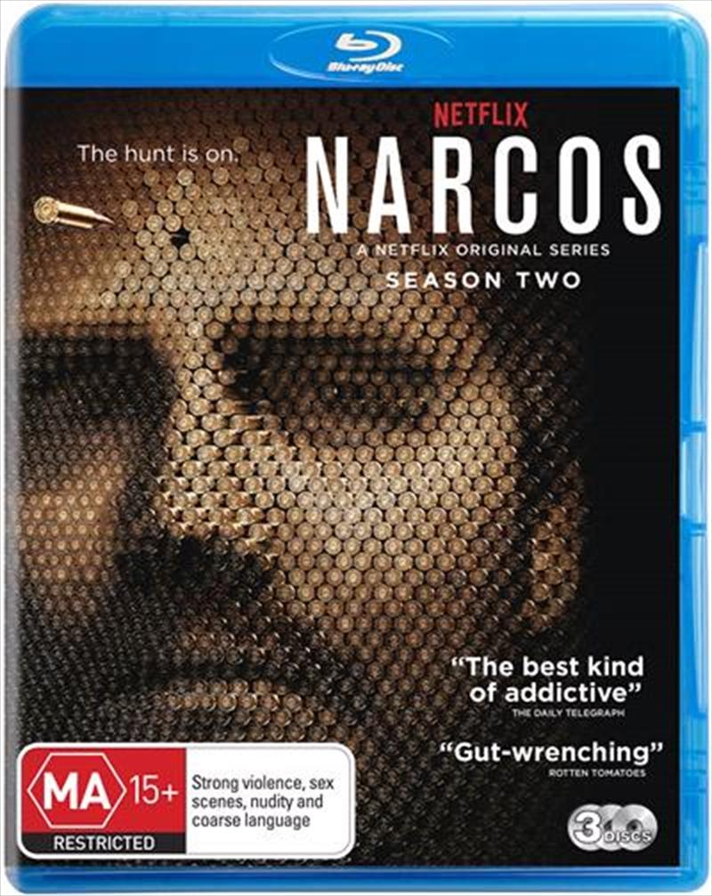 Narcos - Season 2   Blu-ray